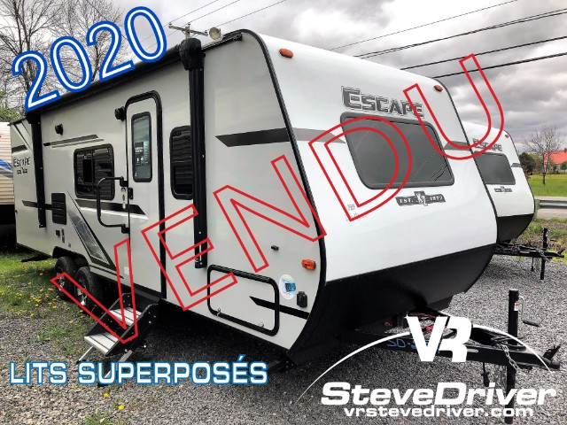 NEW 2020 KZRV Escape E231BH | Saint-Jean-sur-Richelieu